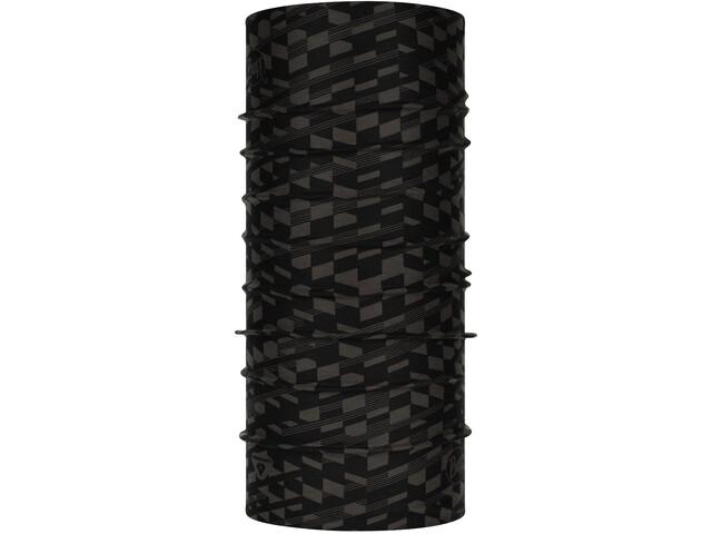 Buff ThermoNet Tubo de cuello, negro/gris